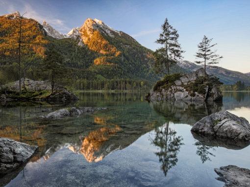 Alpen der Heimat
